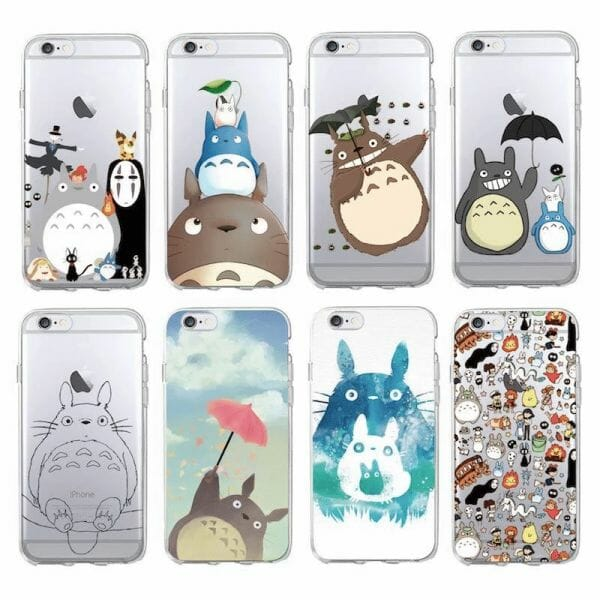 Studio Ghibli Soft Phone Case For iPhone - ghibli.store