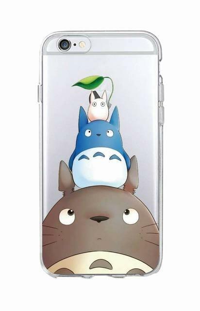 Studio Ghibli Soft Phone Case For iPhone - ghibli.store