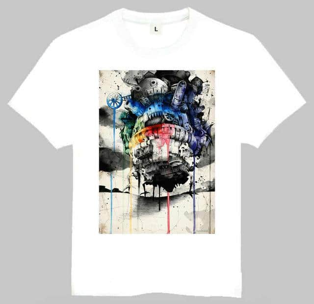 Howl's Moving Castle T Shirt 14 Styles - ghibli.store