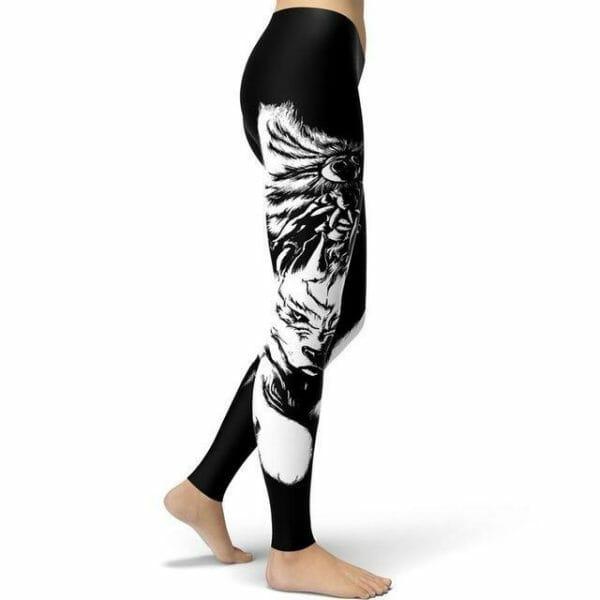 Princess Mononoke Leggings Style 2 - ghibli.store