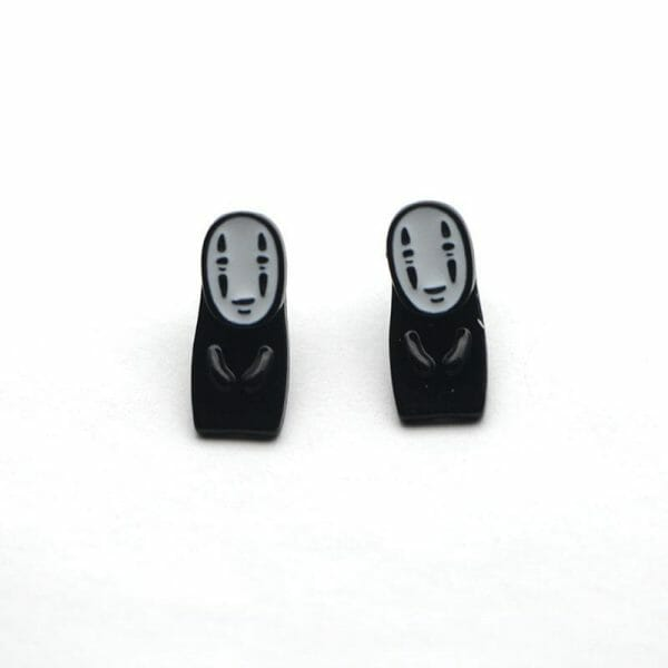 Spirited Away No Face Kaonashi Earrings - ghibli.store