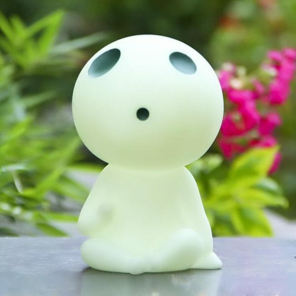 Princess Mononoke Kodama Tree Spirit Piggy Bank 16cm Glow In Dark - ghibli.store