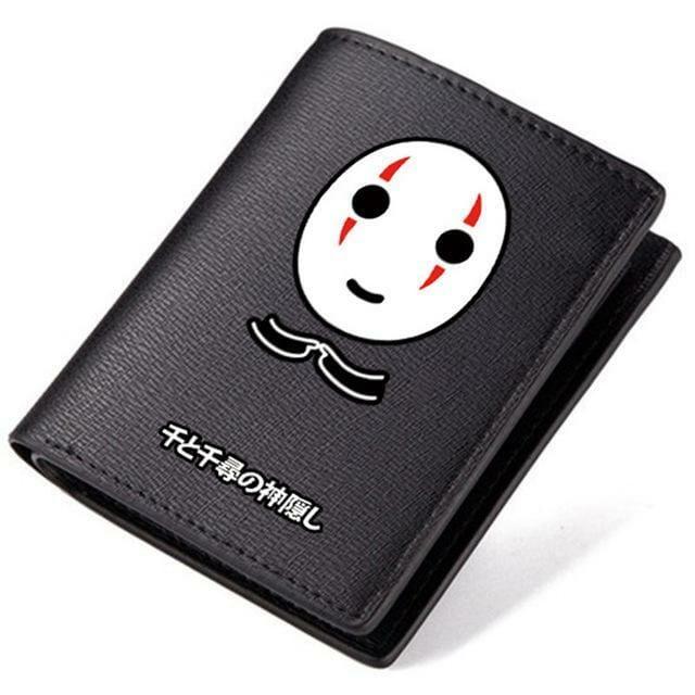 Spirited Away No Face Kaonashi Long Wallet - ghibli.store