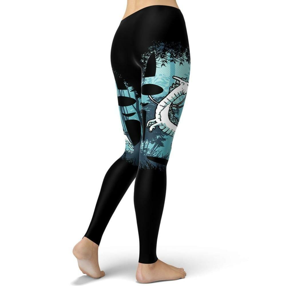 Spirited Away Haku Legging Style 1 - ghibli.store