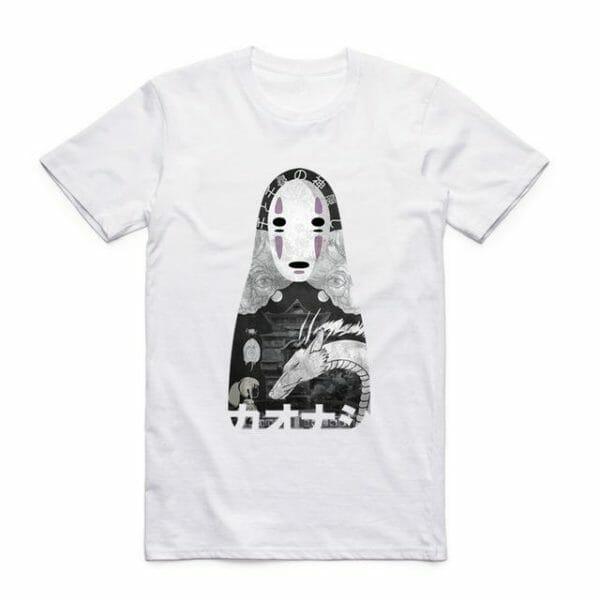 Spirited Away Kaonashi T shirt - ghibli.store