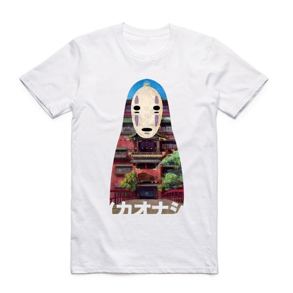 Spirited Away Kaonashi T shirt - ghibli.store
