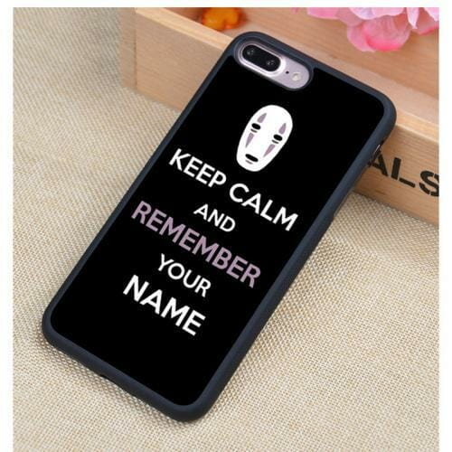 Spirited Away Soft Rubber Phone Case For iPhone 10 Styles - ghibli.store