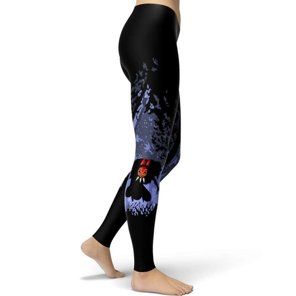 Princess Mononoke Leggings Style 5 - ghibli.store