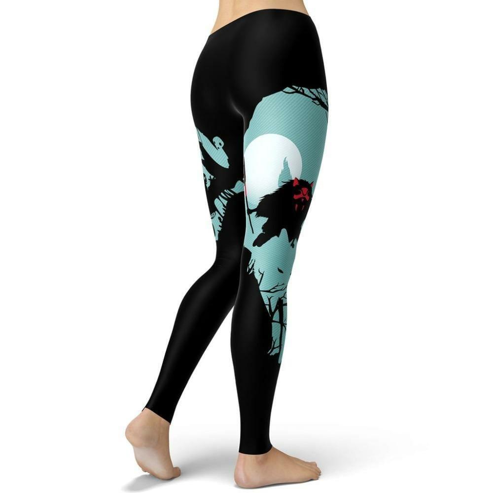 Princess Mononoke Leggings Style 8 - ghibli.store