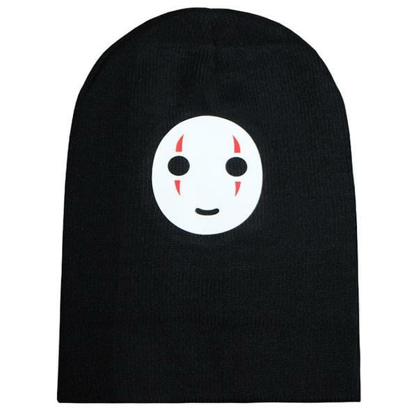 Kaonashi No Face Smiling Beanie - ghibli.store
