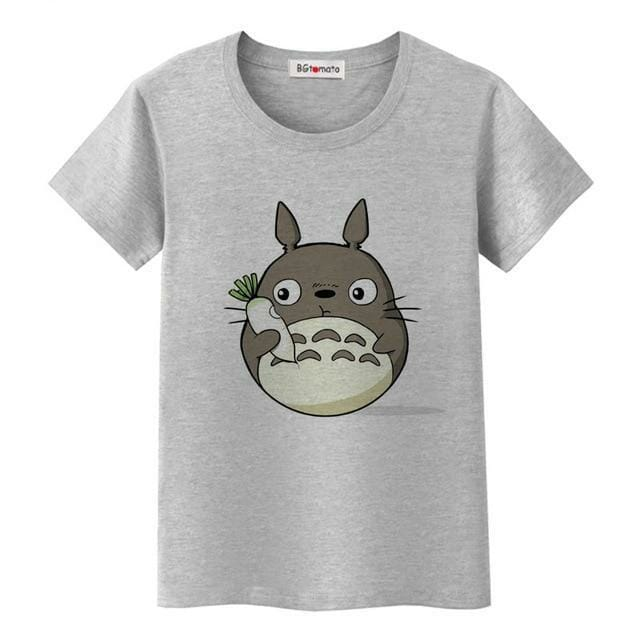 My Neighbor Totoro Cute T-shirt For Women 3 Styles - ghibli.store