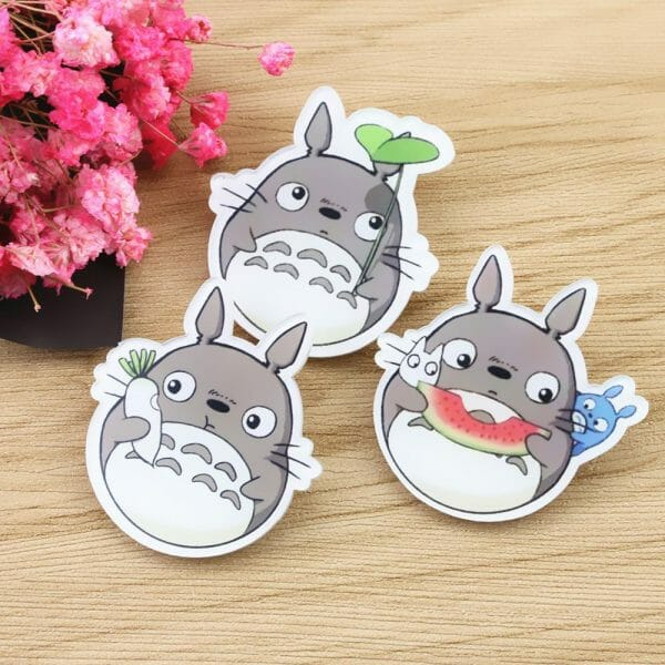 My Neighbor Totoro Backpack Pins - ghibli.store