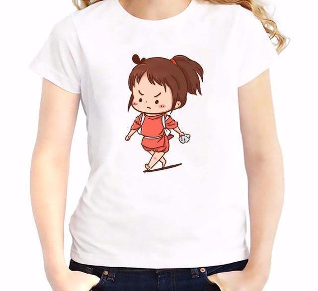 Spirited Away Chihiro Women T Shirt - ghibli.store