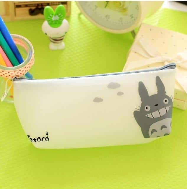 My Neighbor Totoro Jelly Pu Leather Pen Bag - ghibli.store