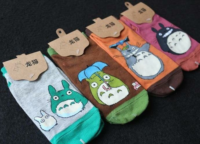 My Neighbor Totoro Summer Socks 4 Styles - ghibli.store