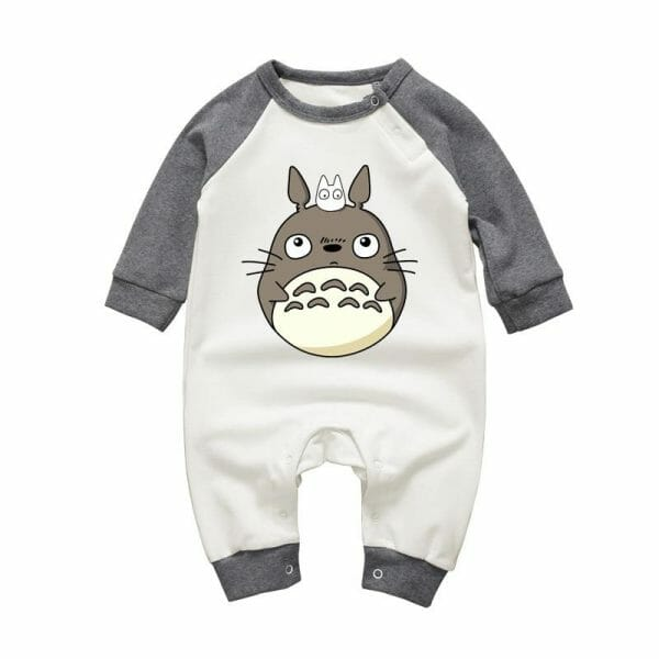 My Neighbor Totoro Onesies Long Sleeve for Baby - ghibli.store