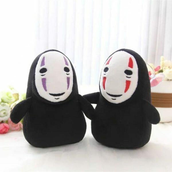 Spirited Away Kaonashi No Face Man Plush 15cm - ghibli.store