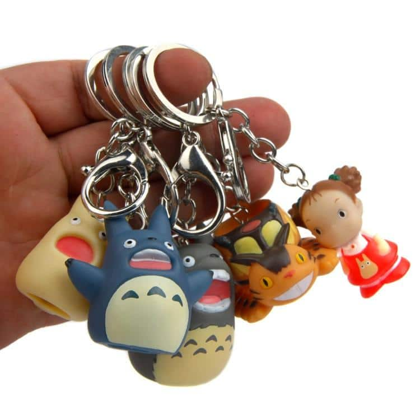 My Neighbor Totoro Characters Keychain - ghibli.store