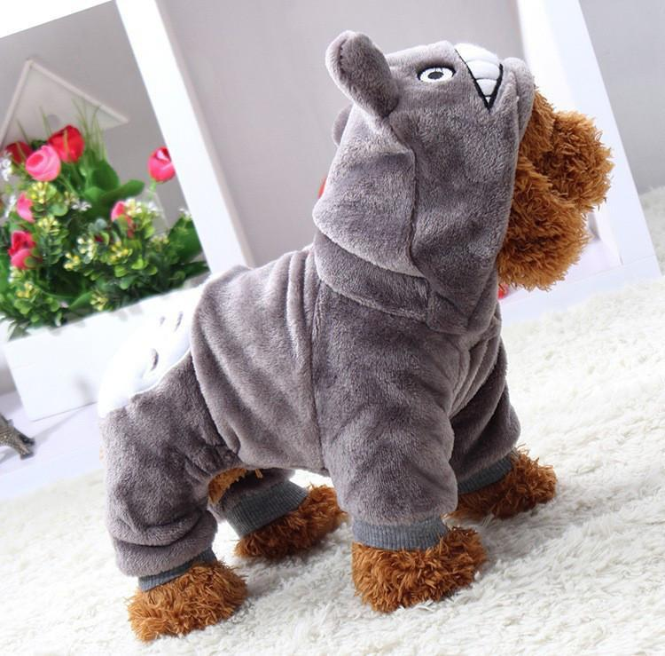 My Neighbor Totoro Winter Pet Costume - ghibli.store
