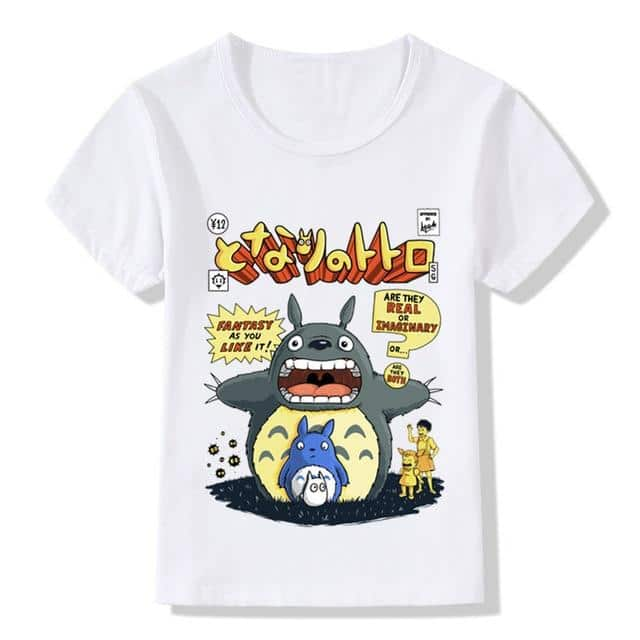 My Neighbor Totoro T-shirt For Kid - ghibli.store