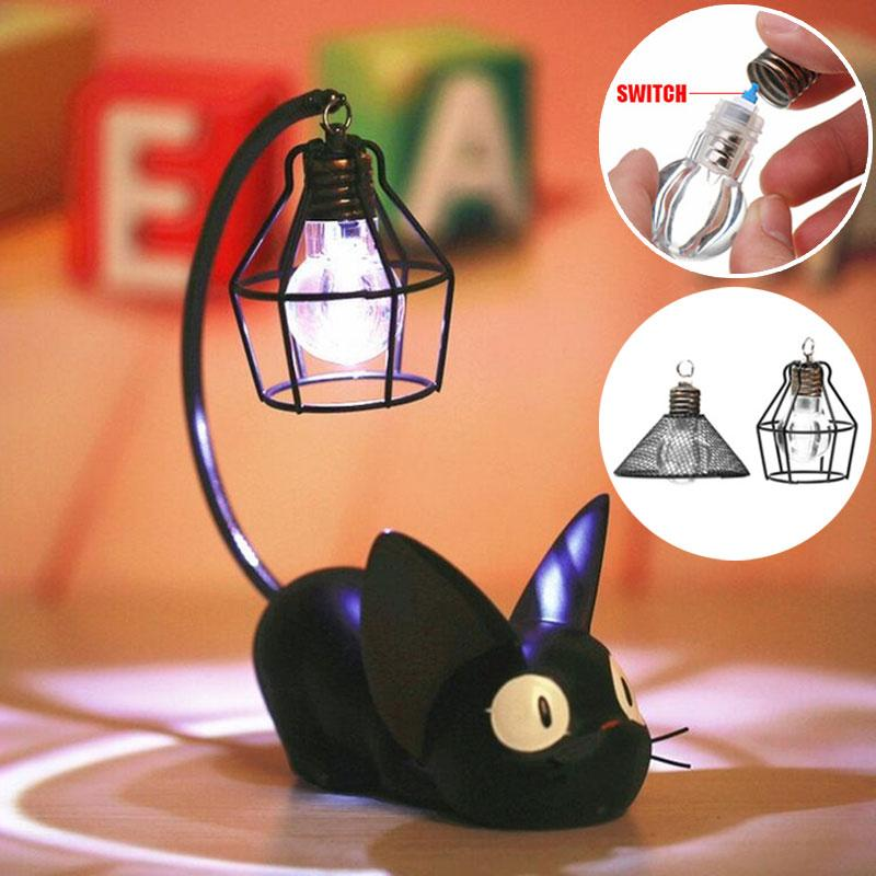 Kiki's Delivery Service Jiji Night Lamp - ghibli.store