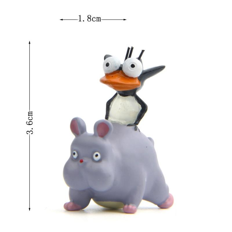 Spirited Away Boh as Little Mouse & Fly Cute Figure 2pcs/set - ghibli.store