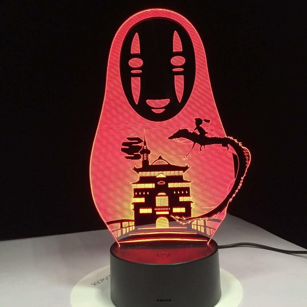 Spirited Away No Face Kaonashi Night Light 7 Colors - ghibli.store