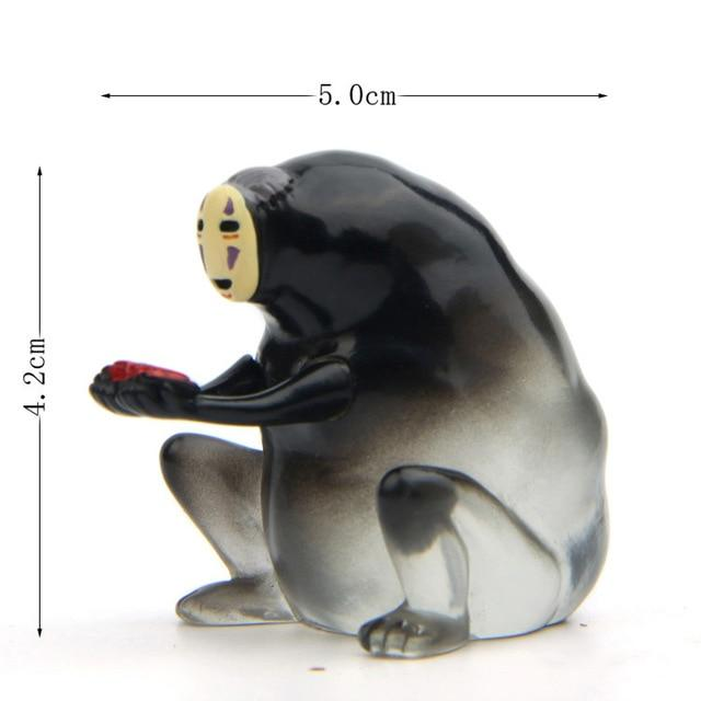 Spirited Away No Face Kaonashi Transparent Figure 6 Styles - ghibli.store