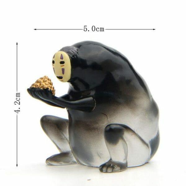 Spirited Away No Face Kaonashi Transparent Figure 6 Styles - ghibli.store