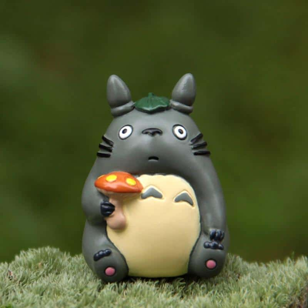My Neighbor Totoro with Mushroom Fairy Garden Home Decoration - ghibli.store