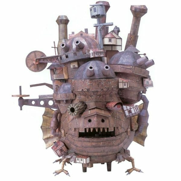 Howl's Moving Castle DIY Paper Model 50cm - ghibli.store