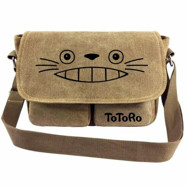 My Neighbor Totoro Messenger Canvas Shoulder Bag - ghibli.store