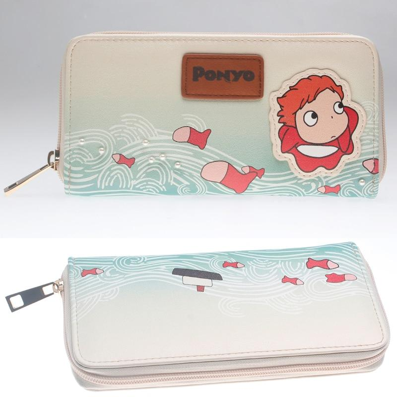 Ponyo On The Cliff By The Sea Long Wallet - ghibli.store