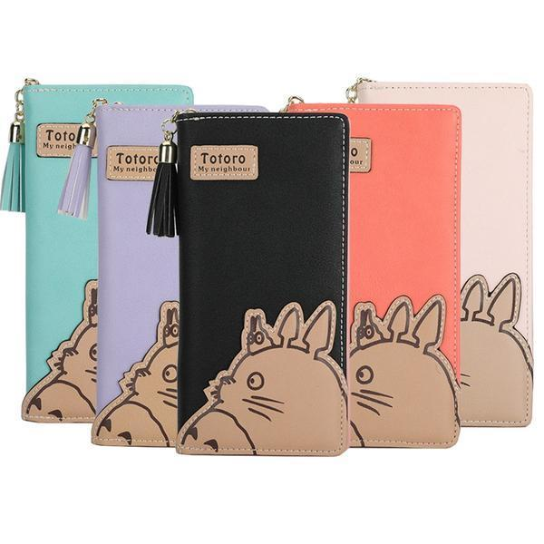 My Neighbor Totoro Long Wallet 5 Colors - ghibli.store