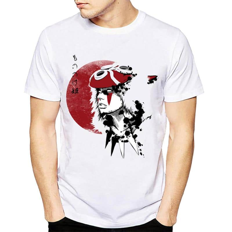 Princess Mononoke T Shirt For Men - ghibli.store
