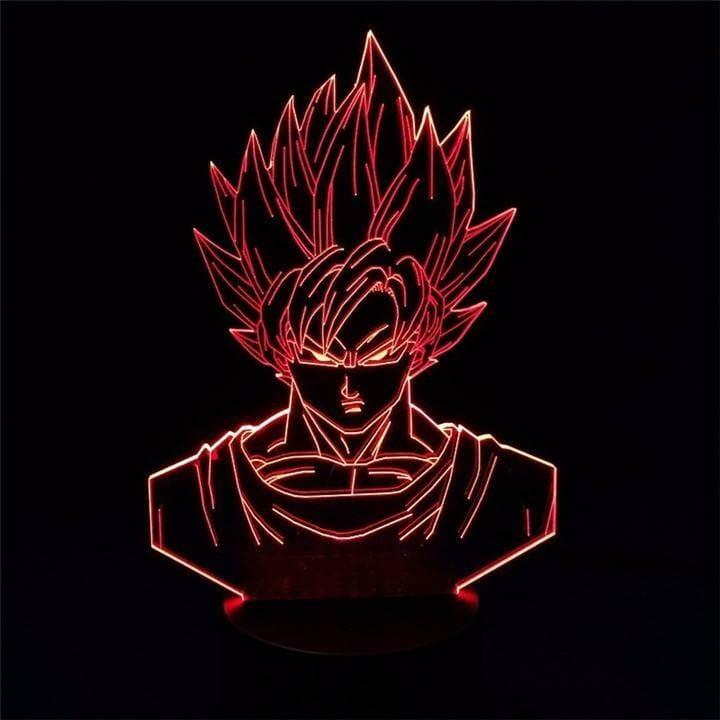Dragon Ball Z Super Saiyan Goku Lamp - ghibli.store