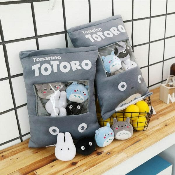 Totoro Family Stuffed Pillow Creative Gift - ghibli.store