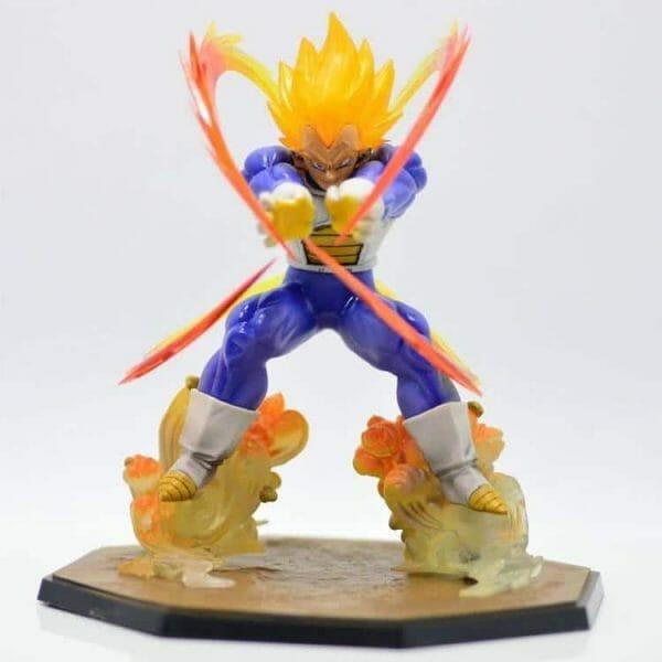 Dragon Ball Z Super Saiyan Vegeta Battle Figure 15Cm - ghibli.store