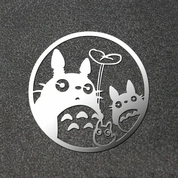 Ghibli Studio Metal Decal for Laptop