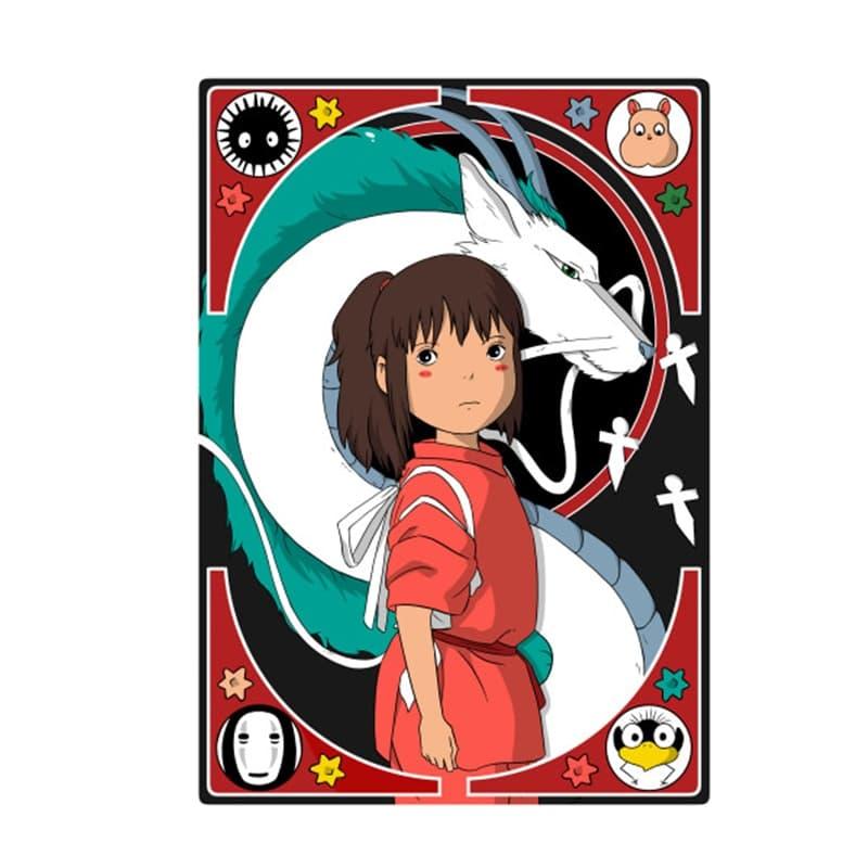 Spirited Away Chihiro and Haku Badge Pins