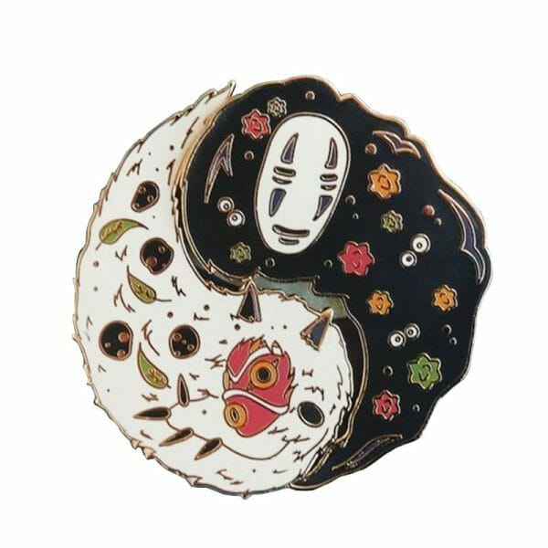 Ghibli Studio Cute Badge Pins 30mm
