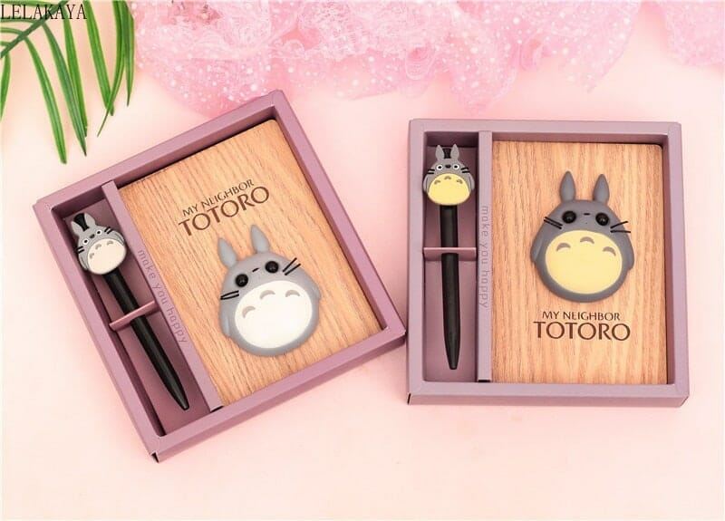 My Neighbor Totoro Notebook with LED Light