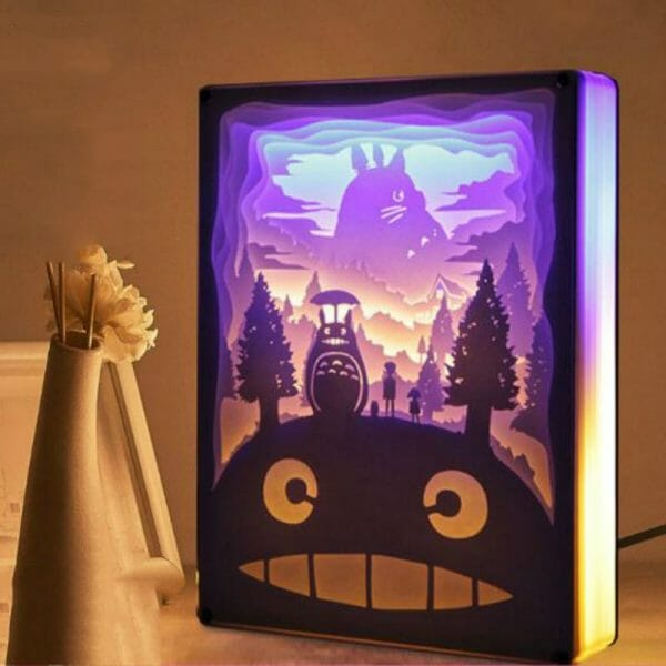 My Neighbor Totoro 3D Paper Carving Art Lamp