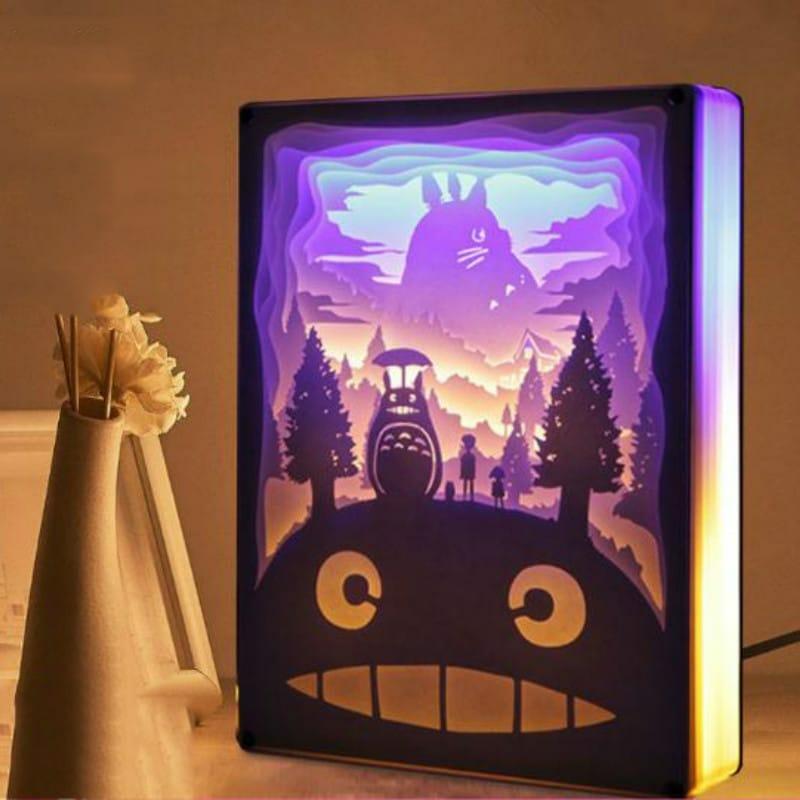 My Neighbor Totoro 3D Paper Carving Art Lamp