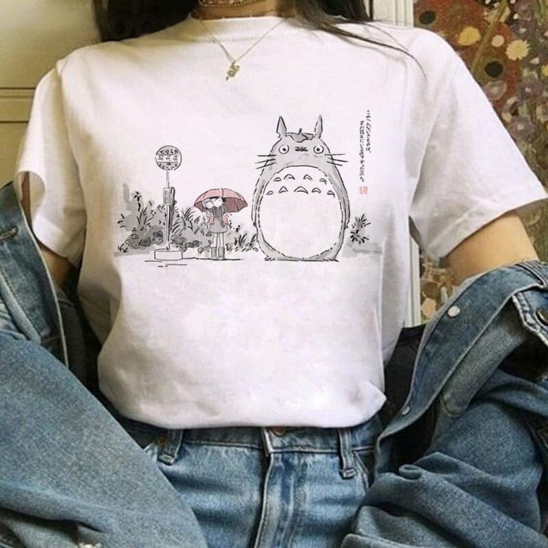 Ghibli Studio Totoro And Friends T shirt 22 Styles