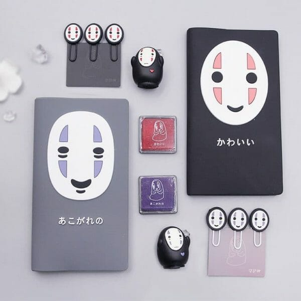 Spirited Away No Face Kaonashi Notebook Set 2 Styles