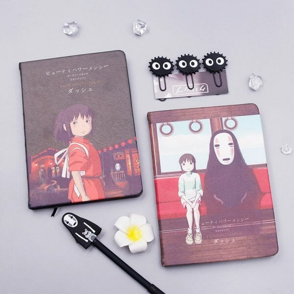 Spirited Away Chihiro and No Face Notebook Set