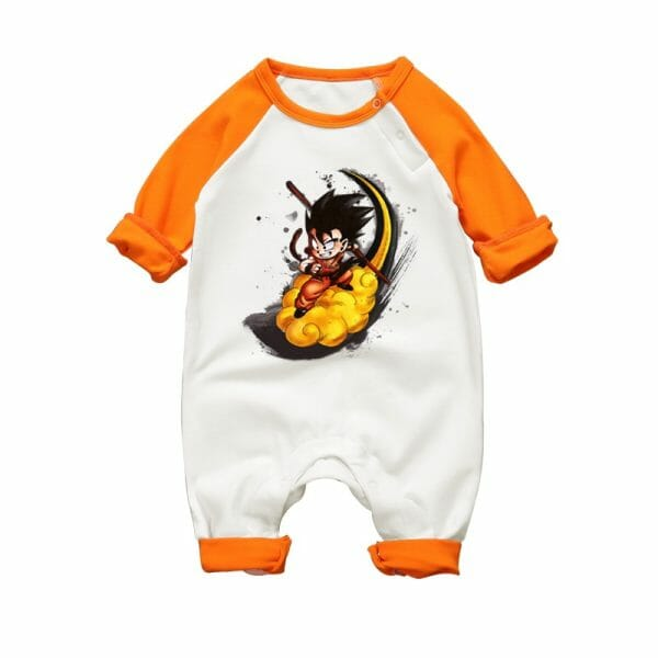 Dragon Ball Son Goku Long Sleeve Baby Onesies