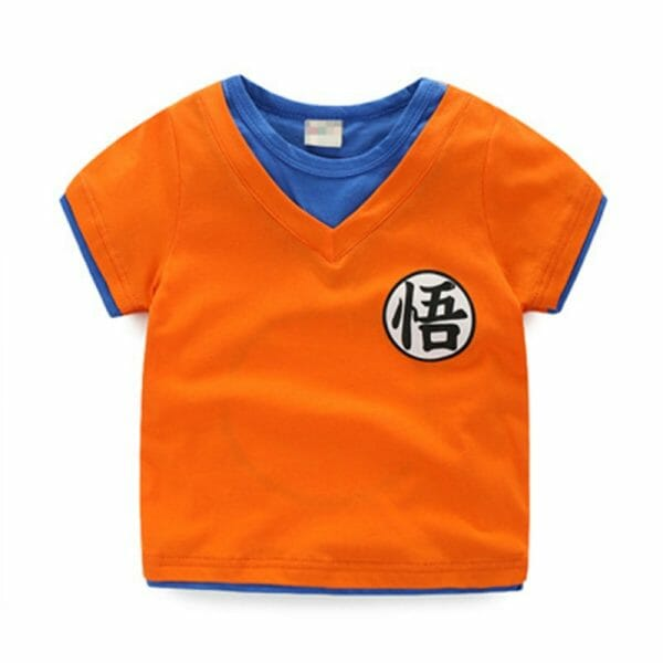 Dragon Ball Son Goku Casual T-shirt For Kids