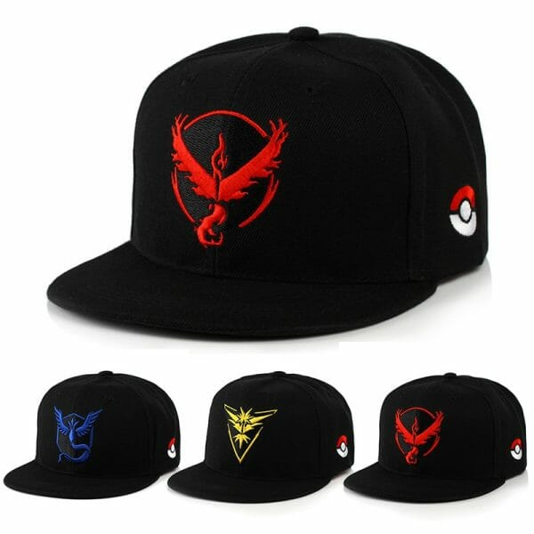 Pokemon Go Baseball Caps
